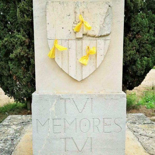 Sa Fundació Jaume III denuncia un atac catalanista a sa creu del Rei Jaume III a Llucmajor