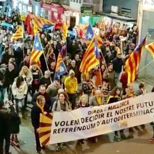 Sa Fundació denuncia ses amenaces i ets atacs a sa seva seu durant sa manifestació pancatalanista des 30 de desembre