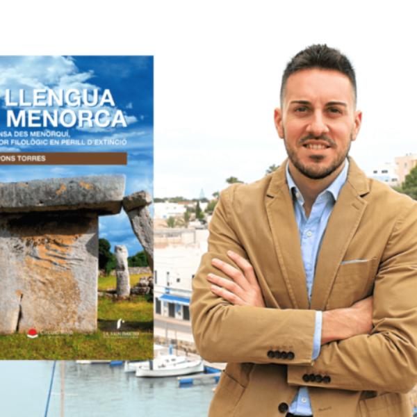 """Sa Fundació presenta es llibre """"Sa llengua de Menorca"""" de Joan Pons Torres"""